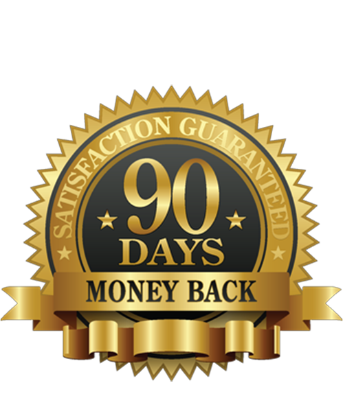 90 days money back guaranteed